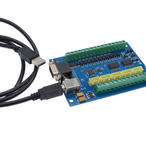 Image 5 - 5 осевая ЧПУ плата драйвера USB MACH3 гравировальная доска с MPG Шаговая плата контроллера движения