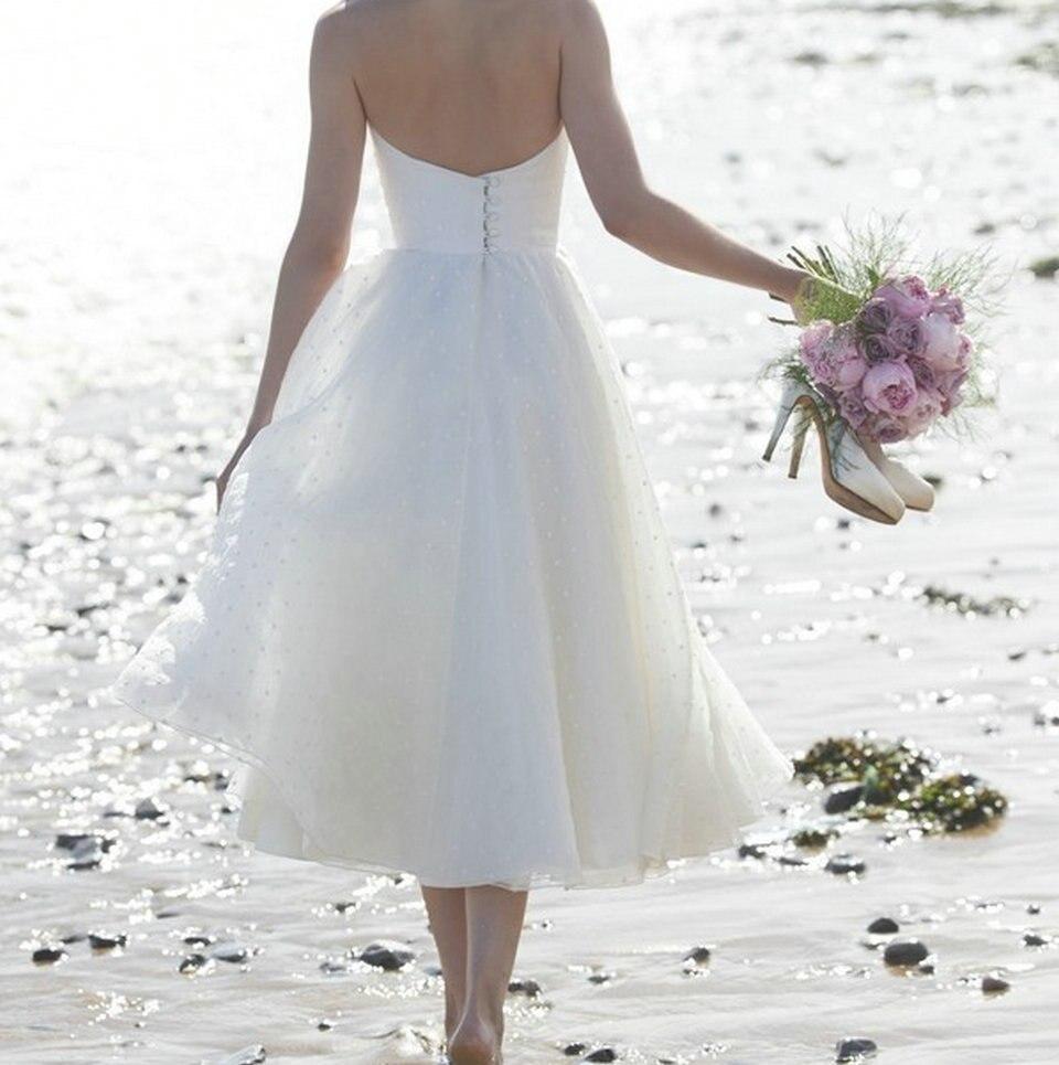 Comprar Sexy Blanco Vestido De Boda 2018 Marfil Vestidos