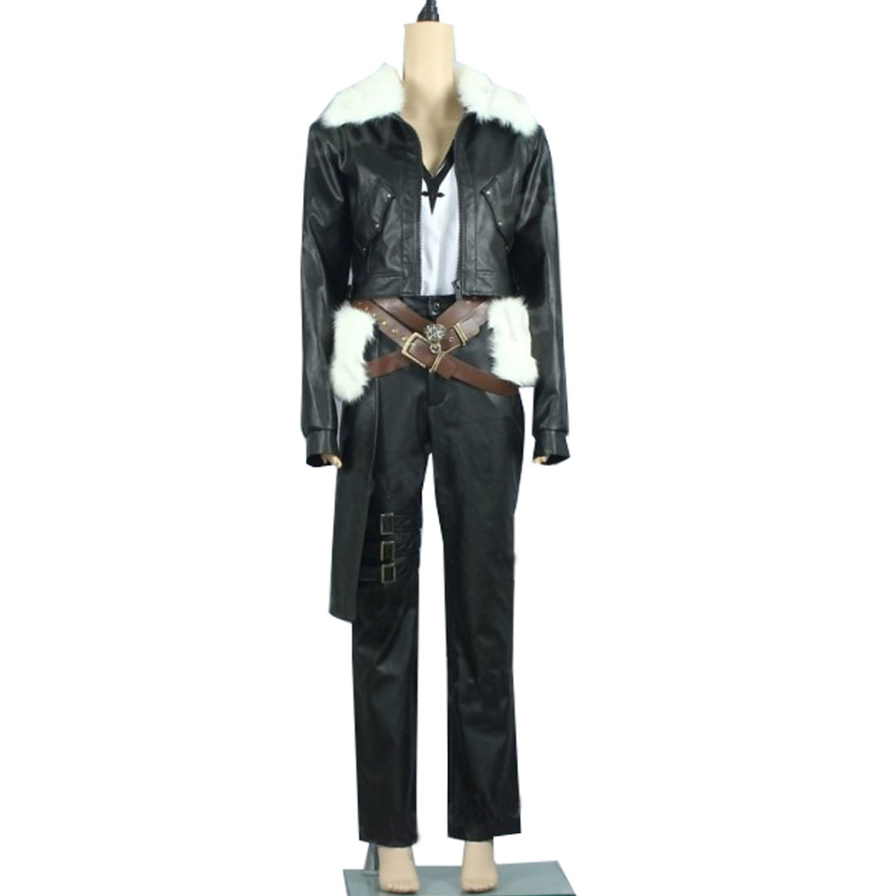 2018 Final Fantasy VIII 8 Squall Uniform Cosplay Costume