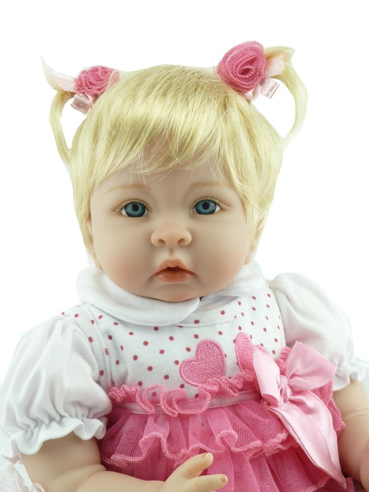 2018 nuevas muñecas de silicona renacidas 22 pulgadas - Muñecas y accesorios - foto 5