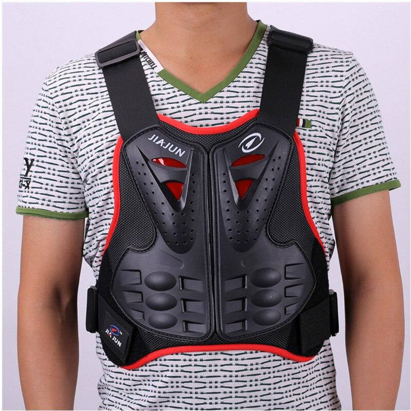 Corpo Armatura Della Protezione Del Motociclo Giacche Motocross Posteriore Shield Gilet Senza Maniche Spine Petto Di Protezione Gears Mens Giacca P