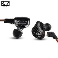 Original 100 KZ ZST Armature Dual Driver Earphone Detachable Cable In Ear Audio Monitors Noise Isolating