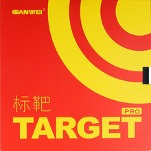 SANWEI Table Tennis Rubber TARGET Provincial forehand offensive pimples in with sponge pro sticky ping pong tenis de mesa