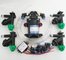 Agricultural plant protection machine drone spraying system nozzle water pump speed controller step-down module water pipe set
