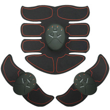 Ems Gel Pad Fitness stimulator muscle electr  Massager 8 Packs Body Smart EMS Abdominal Muscle Trainer Wireless