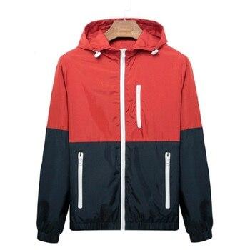 Pánska ľahká prechodná bunda Poketo na zips – 6 farieb