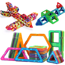 34 Pcs Big Size Designer Magnetic Building Blocks Toys Constuction Assembly Stereo Square Shape Building Blocks Birthday Gift