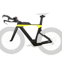 Carbon fiber triathlon timing frame tt frame racing TT handlebar customizable LOGO brand