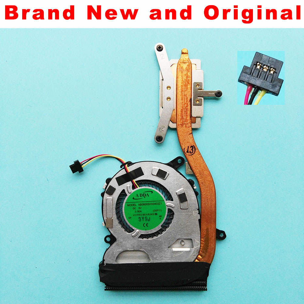 Радиатор для радиатора Sony Vaio FIT13A SVF13 SVF13N SVF13N2A1J SVF13N2C5E SVF13N2J2R ab0600hx0403z1, охлаждающий вентилятор