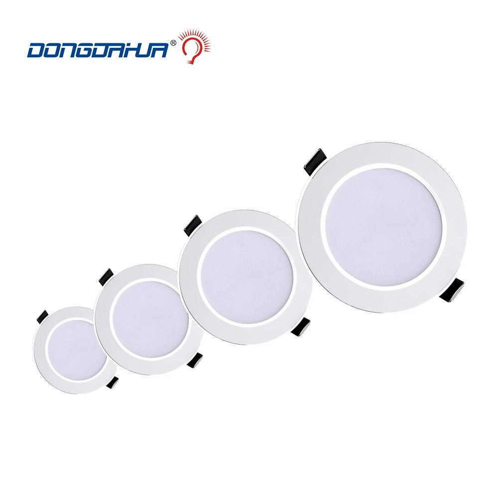 LED Downlight 3 W 5 W 7 W 9 W 12 W 15 W Yuvarlak Gömme Lamba 220 V 230 V 240 V Led Ampul Yatak Odası Mutfak Kapalı LED Spot Aydınlatma