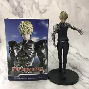 Anime One Punch Man Character Genos Super DXF Action Figure Collectible For Kids Toys Gifts