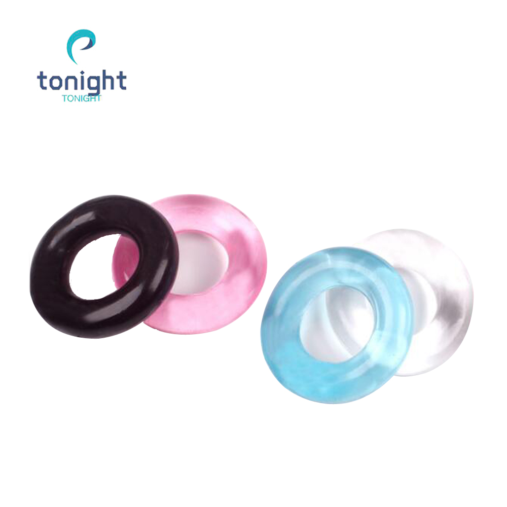 Cock Ring Reusable Silicone Bound Penis Rings Dick Sleeve Dildo Condoms Delay Sex Toys For Men Adult Erotic Products