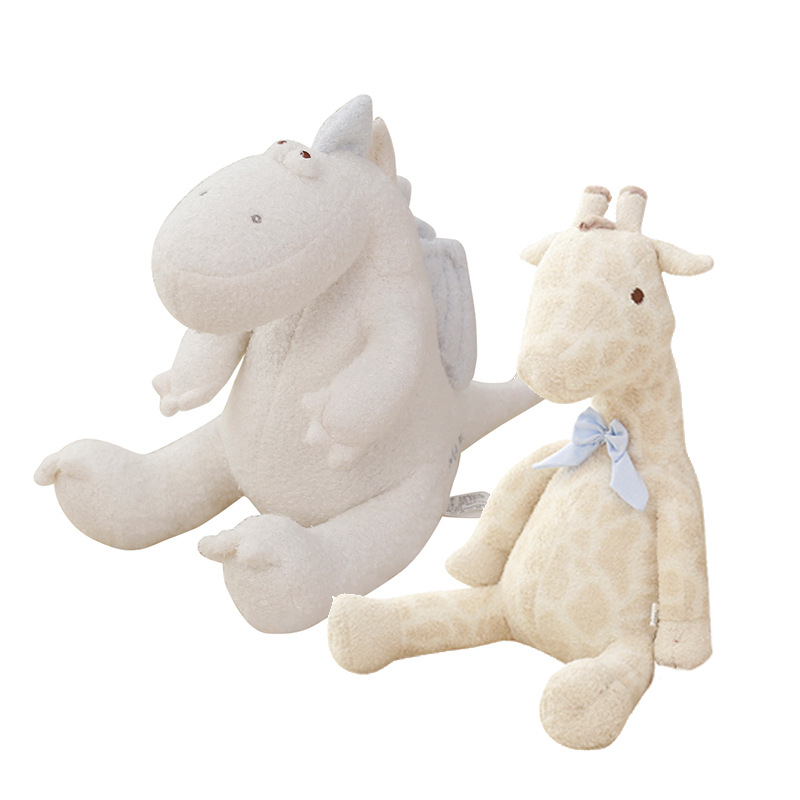 Cute Soft Elephant Giraffe Doll Stuffed Animals Plush Pillow Kids Toy Children Bed Decoration Babies Toys