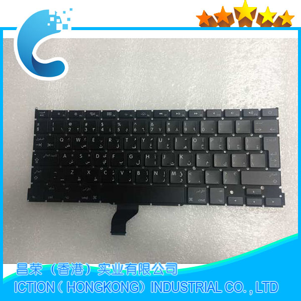 10pcs/lot New Original A502 Keyboard Arabic for Macbook Pro Retina 13 A1502 Arabic keyboard 2013 2014 2015 Years image