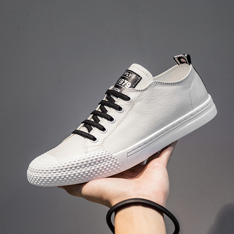 2019 Hot Handmade Vintage Fashion Luxury Brand Male Shoe Genuine Leather Sneakers Men Casual Shoes Mans Footwear