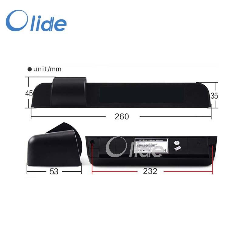 Microwave Active Infrared Safety Sensor,Safety Beam Function Power Input AC/DC 12-30V Motion Presence Sensor