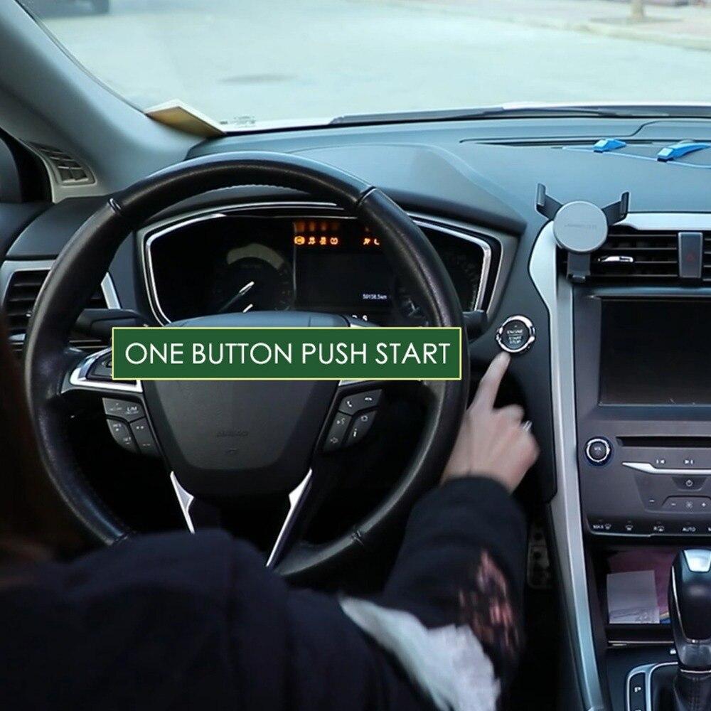 Système de bouton d'arrêt de démarrage à allumage intelligent universel avec moteur à distance GD289
