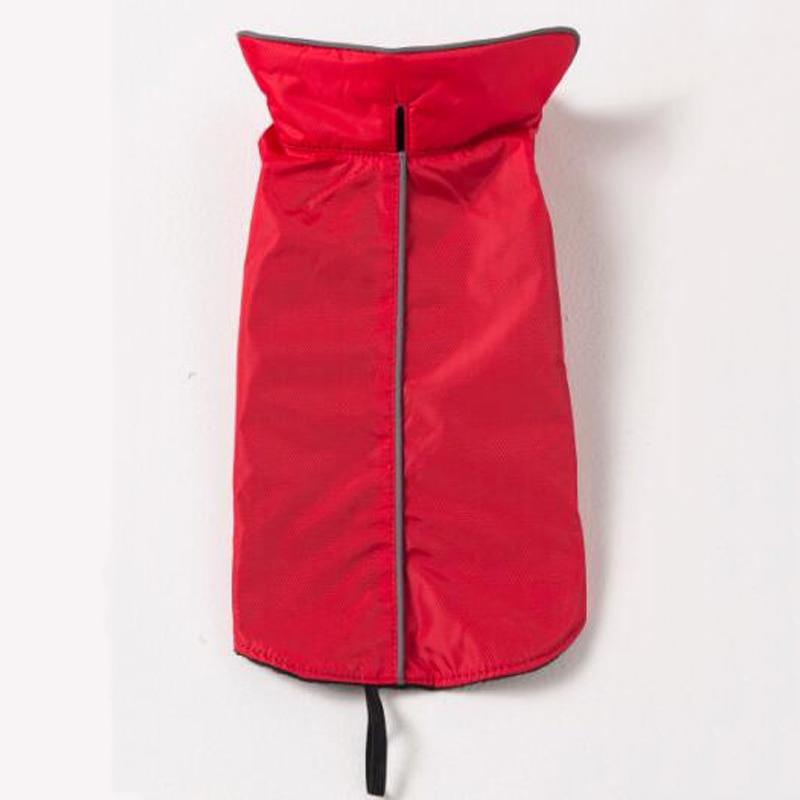 Fekete vörös vízálló kisállat kutya kabát 100% - Pet termékek - Fénykép 5