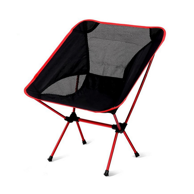 Good Deal Super Light Breathable Backrest Folding Chair For Fishing Portable Outdoor Beach Sunbath Picnic Barbecue Party