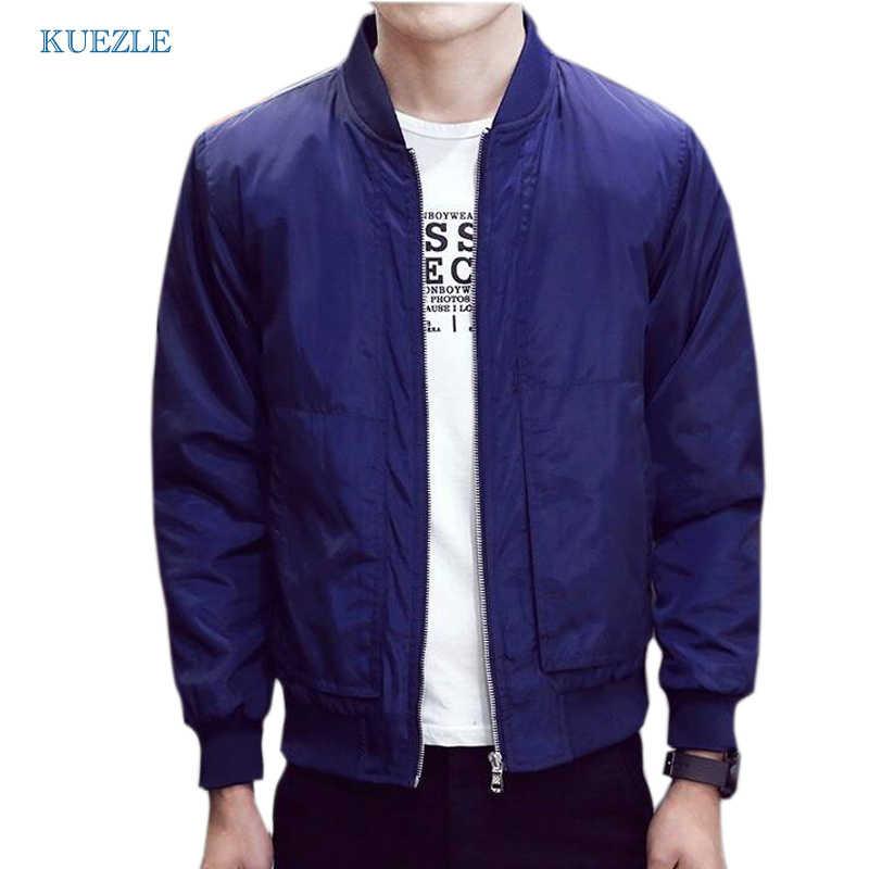 Мужская мода весна куртка slim 2018 человек корейской версии тонкие летние куртки vetement homme манто homme плюс размер 4XL