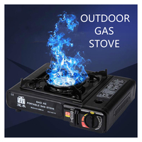 New Easy Carry Travel Hiking Camping BBQ Stove Portable Portable Gas Stove Outdoor Windproof Gas Stove Korean Mini Fire Maple