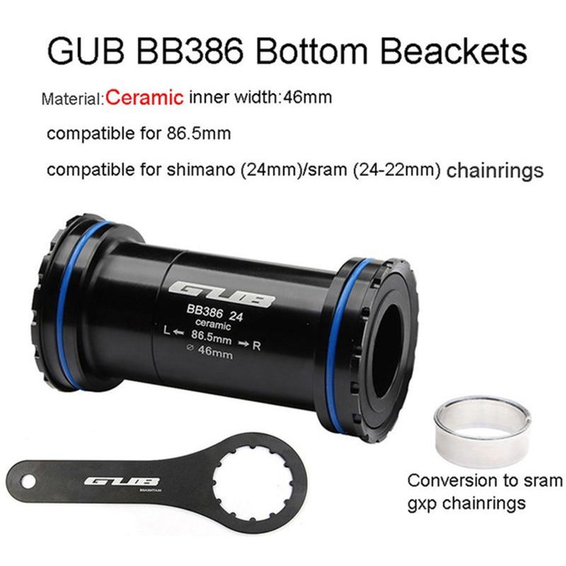 Gub BB92 Press-fit Ceramic Bottom Bracket Cycling for Shimano FR Bike Parts NEW