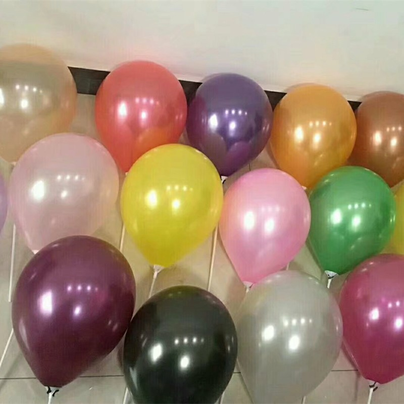 Latex baloons 10inch Helium Balloon 50pcs Inflatable Valentines Day Decorations Air Balls party birthday decorations Balloons