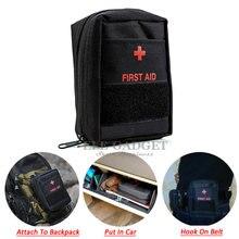 Kit de primeiros socorros portátil, bolsa vazia, mini bug out, resistente à água para caminhadas, viagem, casa, carro, tratamento de emergência