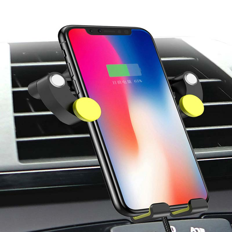AOSRRUN Special On Board QI Wireless Charging Phone Stand