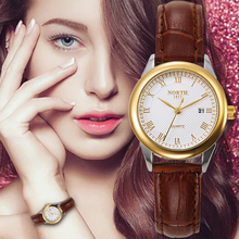 Women Watch Fashion Casual Female Wristwatch 30M Waterproof Genuine Leather Round Analog Quartz Military Business Ladies Watch