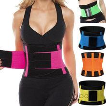 Men Women Shapewear Sweat Belt Waist Cincher Trainer Trimmer Gym Body Shaper Unisex Sports Waistband