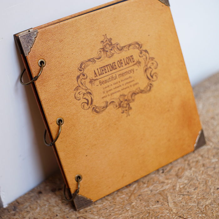 PU Leather Photo Album For 300photos Capacity Vintage Family Foto Big Wedding Graduation Boy Flush Mount In Albums From Home