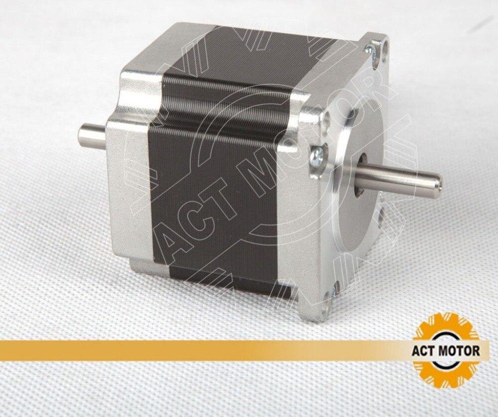 Buy dual shaft nema 23 stepper motor 1 for Stepper motor buy online