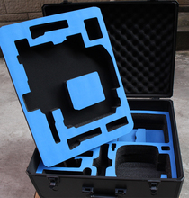 Aluminum DJI RONIN-MX case plastic protective box impact resistant protective case with custom EVA lining