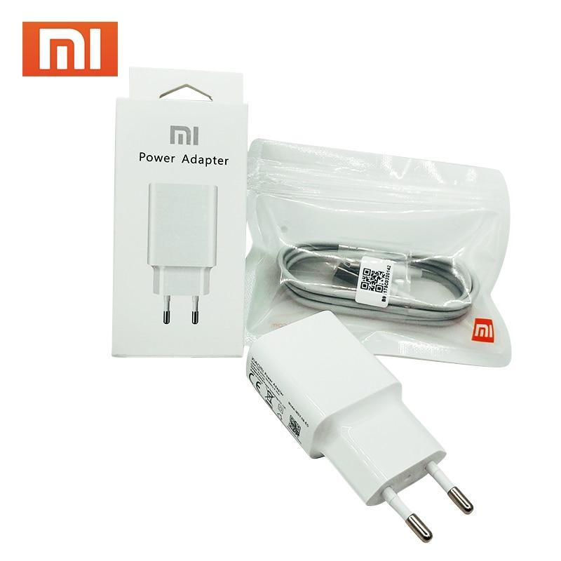 XIAOMI Type-C-Cable Usb-Charger Eu-Plug Micro-Usb Note 4 Redmi 5v 2a Original 1 For Mi-9/8/Se/..