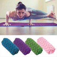 Soft Yoga Massage Mat Travel Sport Fitness Exercise Cover Towel Blanket Thick Folding Floor Play Mat