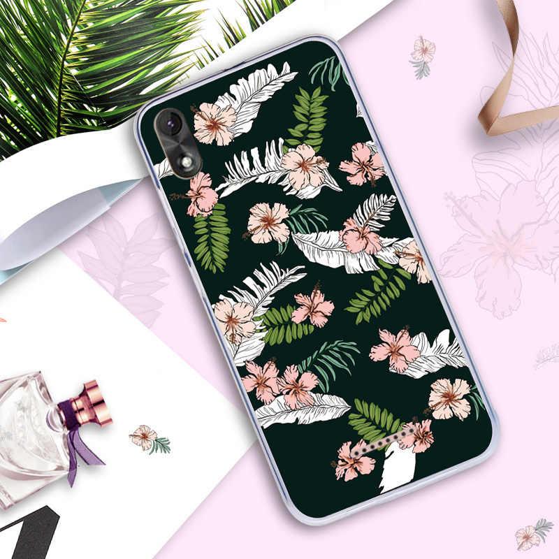 Чехол для телефона Wiko Lenny 4 силиконовый мягкий чехол с мультяшным рисунком Фламинго чехлы с животными для Wiko Lenny 4 девчачий цветок оболочка милый
