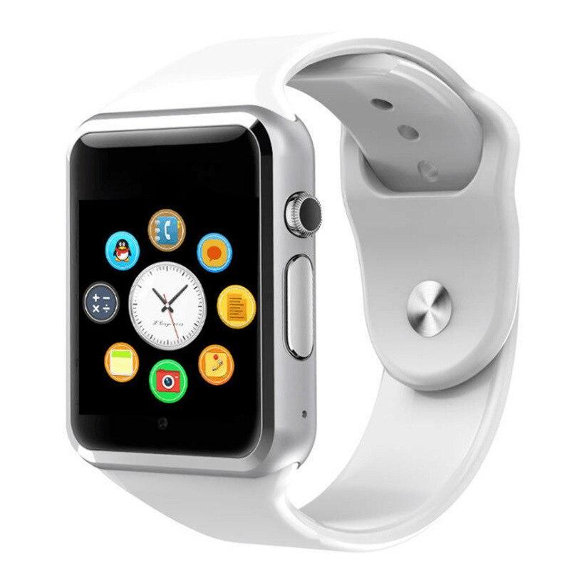 A1 montre-bracelet Bluetooth montre intelligente Sport podomètre avec caméra SIM Smartwatch pour Smartphone Android russie T15 bon que DZ09