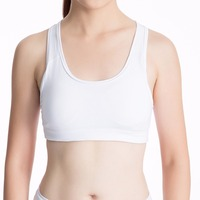 Females Workout Sexy Fitness Bra Shirt Padded Bra Push Up Wireless Dry Fit Tank Tops 2008