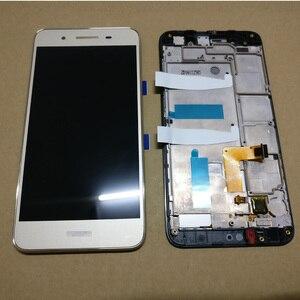 Image 2 - עבור Huawei ליהנות 5S GR3 TAG L01 TAG L03 TAG L13 TAG L22 TAG L21 LCD תצוגה + מסך מגע Digitizer עצרת + עם מסגרת