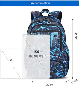 Image 2 - Fengdong 3pcs תלמיד תיק סט תיכון שקיות עבור בני bagpack ילדים גדול עמיד למים תרמיל ילד כתף תיק עט קלמר