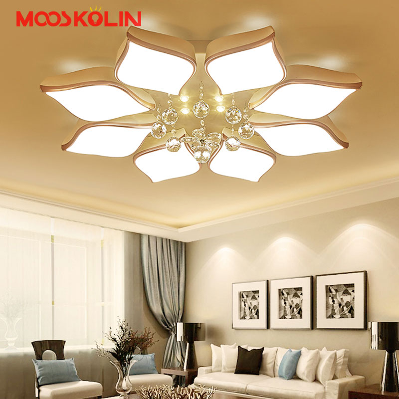 2017 New Modern LED Crystal Chandelier Lighting Fixture Crystal Light Lustres de cristal for Living Room Bedroom Ceiling Lamp modern led crystal pendant lamp dandelion chandelier light fixture for dining room bedroom lustres de cristal ac110v 240v