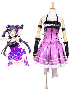 Love Live school idol festival Tojo Nozomi Dress Cosplay Costume Tailor Made
