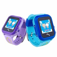 GPS Kids Smartwatch Waterproof Step Counting Positioning Children Smart Tracker Touch Screen Two Way Call SOS