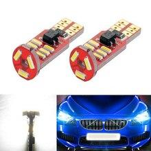 hot deal buy boaosi 2x canbus car led t10 w5w 15led parking light for bmw e46 e39 e91 e92 e93 e28 e61 f11 e63 e64 e84 e83 f25 e70 e53 e71 e60