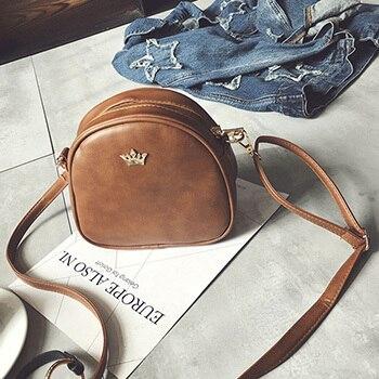 Mara s Dream Fashion Women Handbag Messenger Bags PU Leather Shoulder Bag Lady Crossbody Mini Bag Female Crown Evening Bags