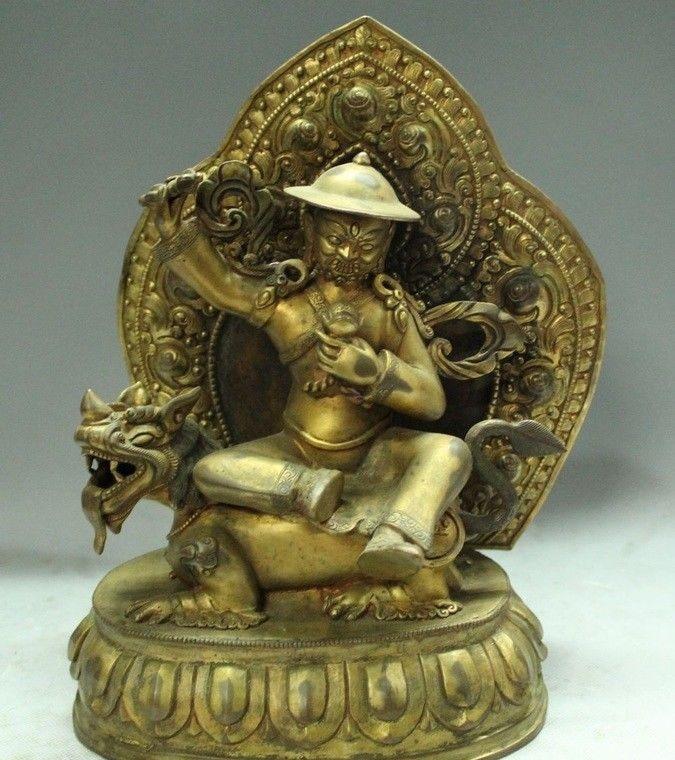 Humor Tibet Buddhism Bronze 24k Gold Gilt Sakyamuni Shakyamuni Tathagata Buddha Statue Professional Design Antiques