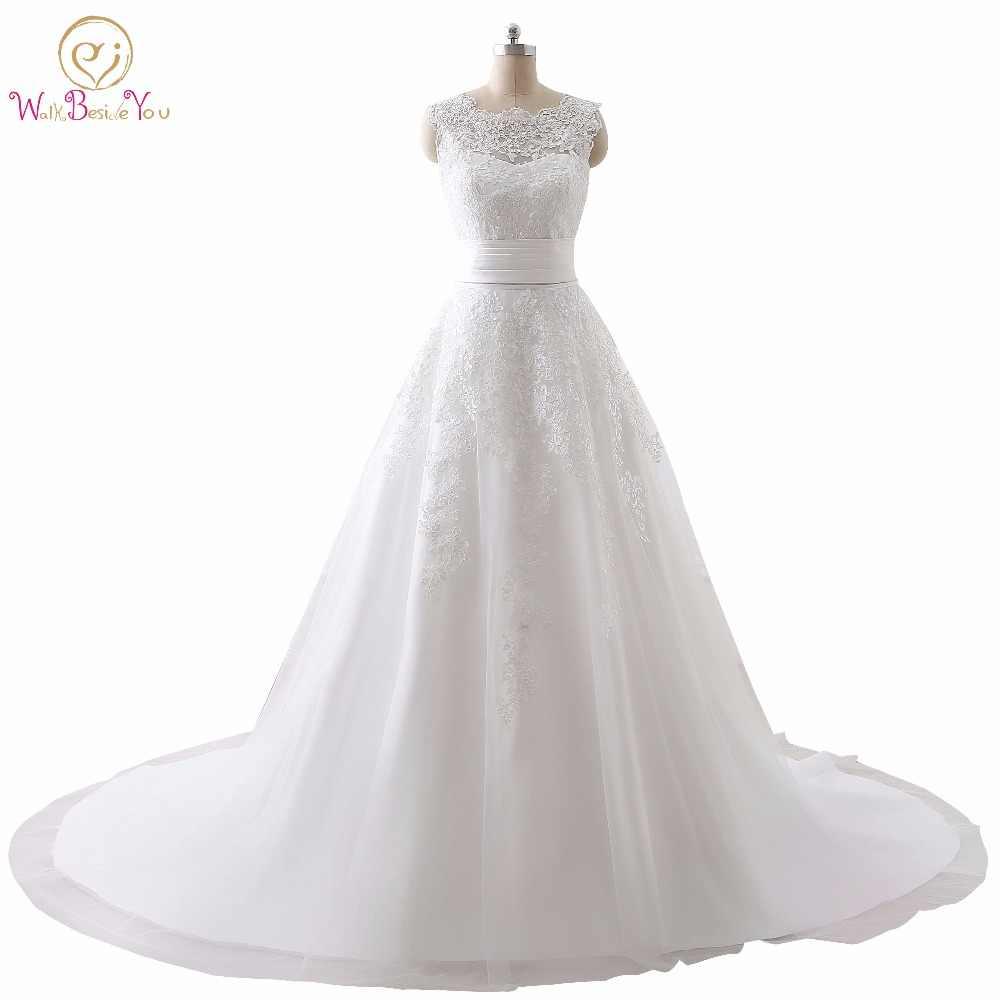 a84ca0ec195 Роскошные свадебное платье настоящая фотография Дешевые Свадебные платья  Кружева свадебное платье es Съемная юбка линии Съемная