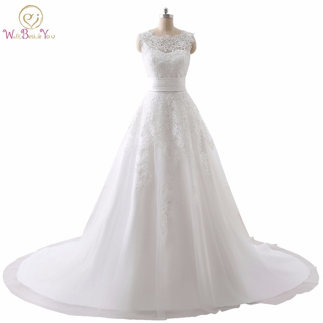 Luxus Hochzeitskleid Real Photo Günstige Brautkleider Spitze ...