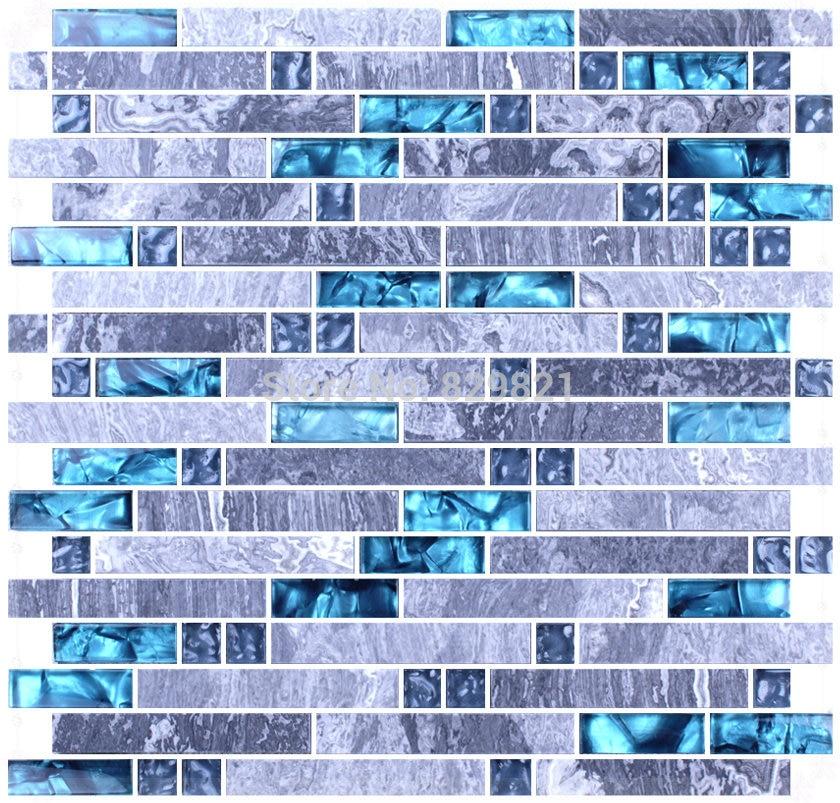 Papier Peint Salle De Bain Bleu | Idées Décoration Intérieure